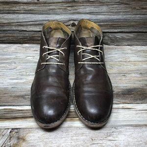 Cole Haan Men's Glenn Chukka Boot Brown Leather 13